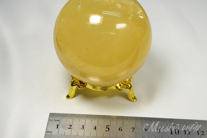 ゴールデンカルサイト丸玉